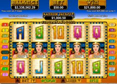 Cleopatra Gold Slots Casino Game Play - Practice Mode or Real Money