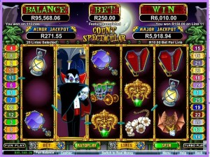 Count Spectacular Slots Silversands ZAR Casino